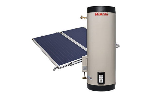 Solar Panel Powered Hot Water
